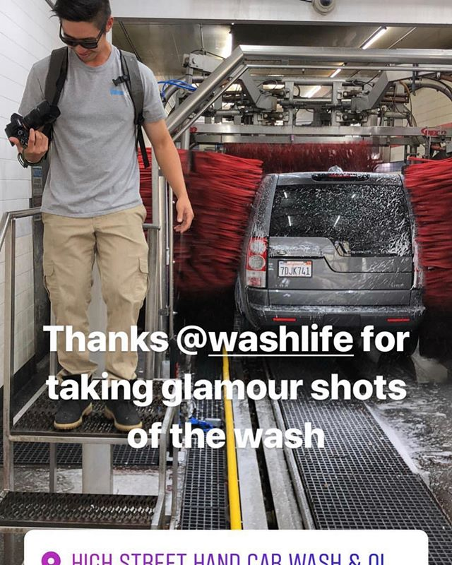 Today marks the start of taking WashLife to the next level. I am fortunate enough to quit my second job yesterday so I can openly pursue this project more full time (aside from managing my current washes). I love shooting new sites, learning from other operators, and having a platform to showcase my work to all of you. Let's fcking get it🤟🏼 • • • • • Pic credit repost from @carwashking_fsu  #washlife #stayproperlyclean #oaklandhighstreetcarwash #carwashshow #bayarea #oakland #carwash #carwashing #carwashday #carwashtime #autocare #carcare #motivationmonday #motivation #entrepreneur #business #startup