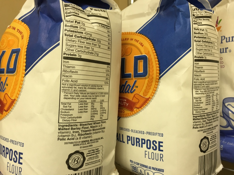 food pantry - flour