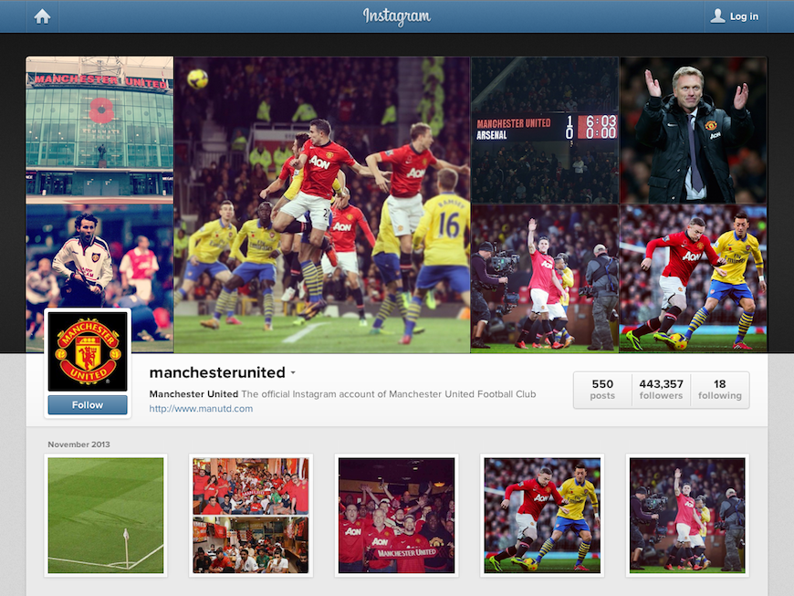 Manchester United on Instagram