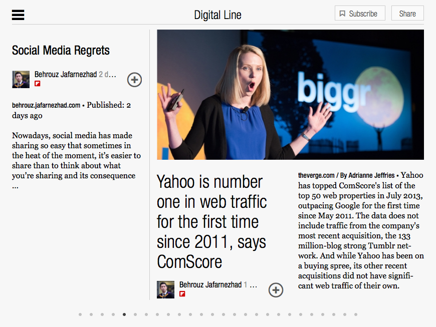 Inside Digital Line on Flipboard