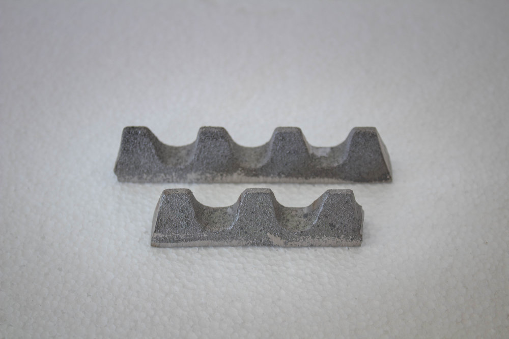 4 Tooth & 3 Tooth - These are sold as a bundle of12ea 4 Tooth and 12ea 3 Toothfor a total of 24 pieces.