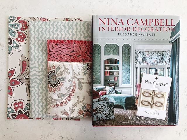 Shout out to @scherpingwestphal for this fun gift! We love Nina Campbell! 😍 💕xo, RLH!  #residential #interiordesign #minneapolisinteriordesign #ninacampbell #color #minneapolis