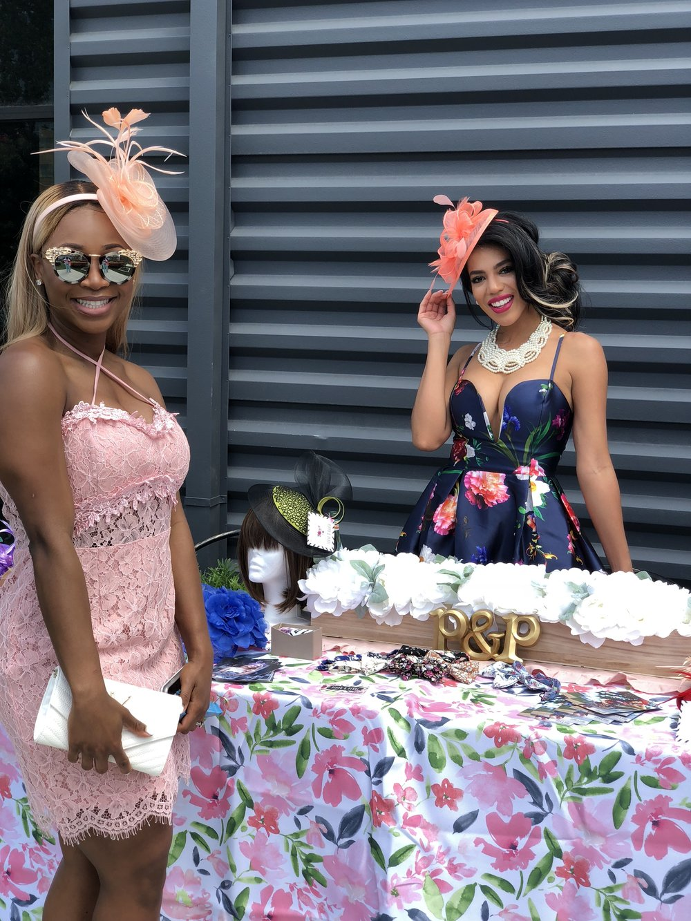 Boutique Pippa and Pearl was there to help women get derby ready!