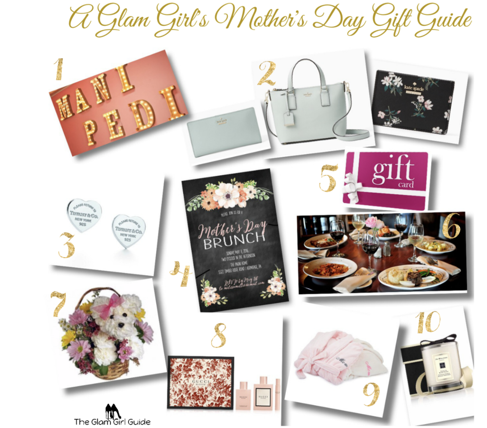 A Glam Mother's Day Gift Guide — The Glam Girl Guide