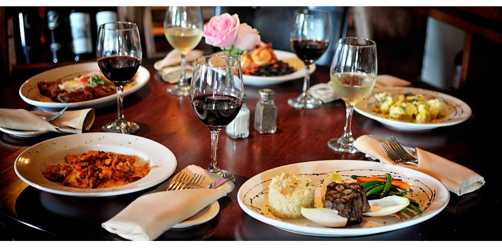 Gift Idea #6:  Dinner! Treat Mom to a delicious dinner at her favorite restaurant. This can be bundled with any of the gifts on our guide or a beautiful heart filled card.