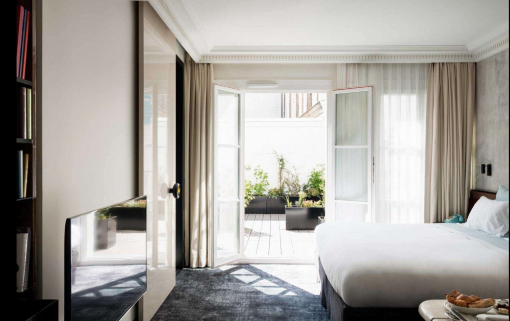 Room at Les Bain (from website)