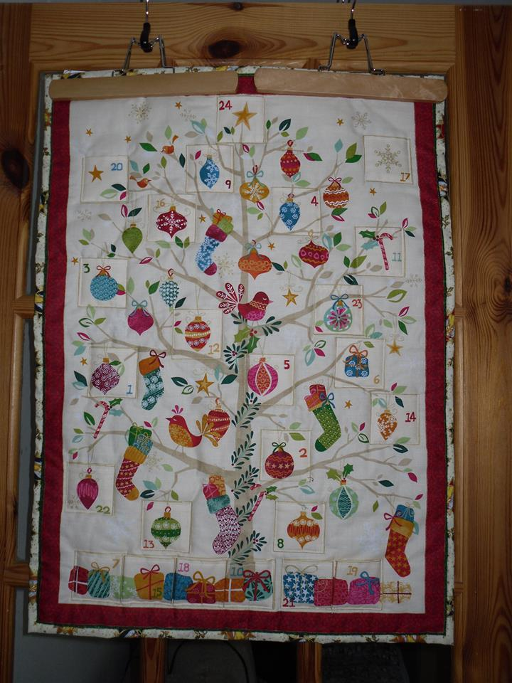 Quilted Christmas Advent Calendar