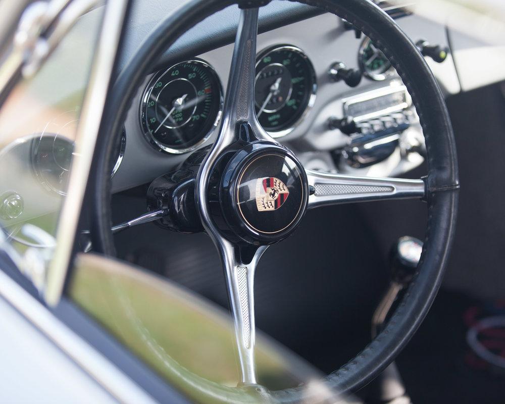 Interior, Porsche 356SC