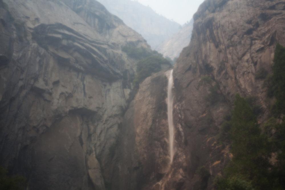 Yosemite Park, shot with pinhole camera