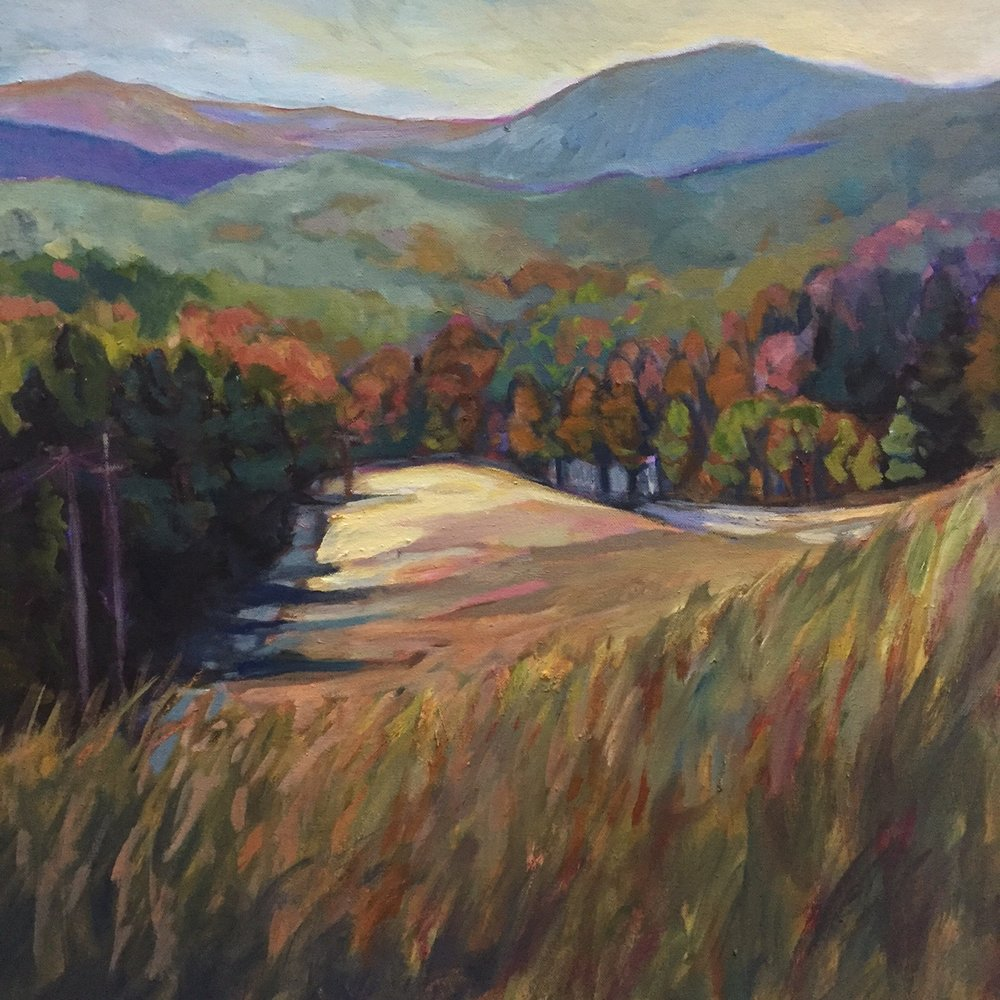 "Saluda Valley 30"" x 30"" oil on canvas"