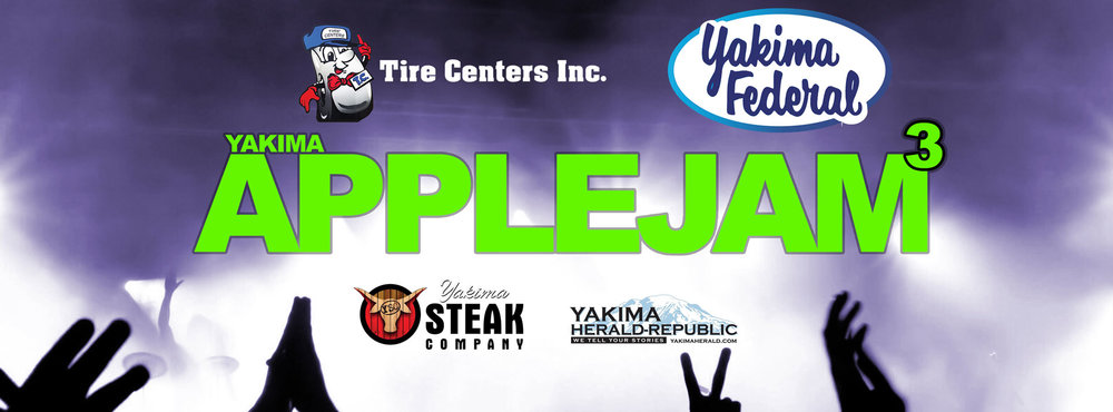 The Yakima AppleJam music festival is part of Yakima's 4th of July celebration.  By 10 p.m., it is estimated that 30,000 people will be in or around the fairgrounds.  In 2018, it was estimated that between 6,000 and 8,000 people were near the stage for the finale.  Yakima AppleJam is Central Washington's premier stage for new and upcoming artists.    HERE'S HOW IT WORKS: 1) Submit a video of you or your band performing by May 23rd. 2) After everyone is done submitting their videos we will invite people to watch them online and vote on their favorites. 3) The top soloists and top bands will be invited to play at Yakima's 4th of July Celebration at Fair Park on July 4th. 4) $1,500 in prizes will be awarded. The favorite band will win $500. The favorite soloist will win $500. The top rated performance between the band and the soloist will win an additional $500.  ————————————   CHANGES TO APPLEJAM:    Solo artists will play during prime time between 4 p.m. and 10 p.m. Bands and Solos will alternate through the evening making sure that everyone gets to play in front of a good crowd.  Semi Finals for solo artists! This year, if you are a singer songwriter (soloist) and do not get chosen in the online portion, we are making ONE SLOT available for the artist who wins the semi finals competition to be held between noon and three on the 4th of July. Please see the new, revised rules above.  PRIZES: The top band will win a prize of $500. The top soloist (singer songwriter) will win $500. And the TOP PERFORMANCE will win $500. This means either the top band or the top soloist have a chance to win $1,000.  We have made these changes to bring parity to the local vocalists and singer / songwriters who continue to blow audiences away year after year.