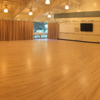 A104 & A105 Dance Studios - Off-campus user: $250/DayOn-campus user: $175/Day