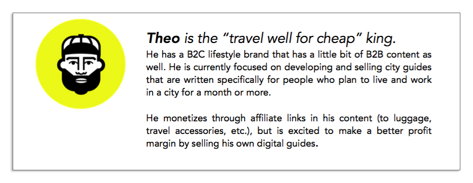 Theo is getting a Facebook ads funnel