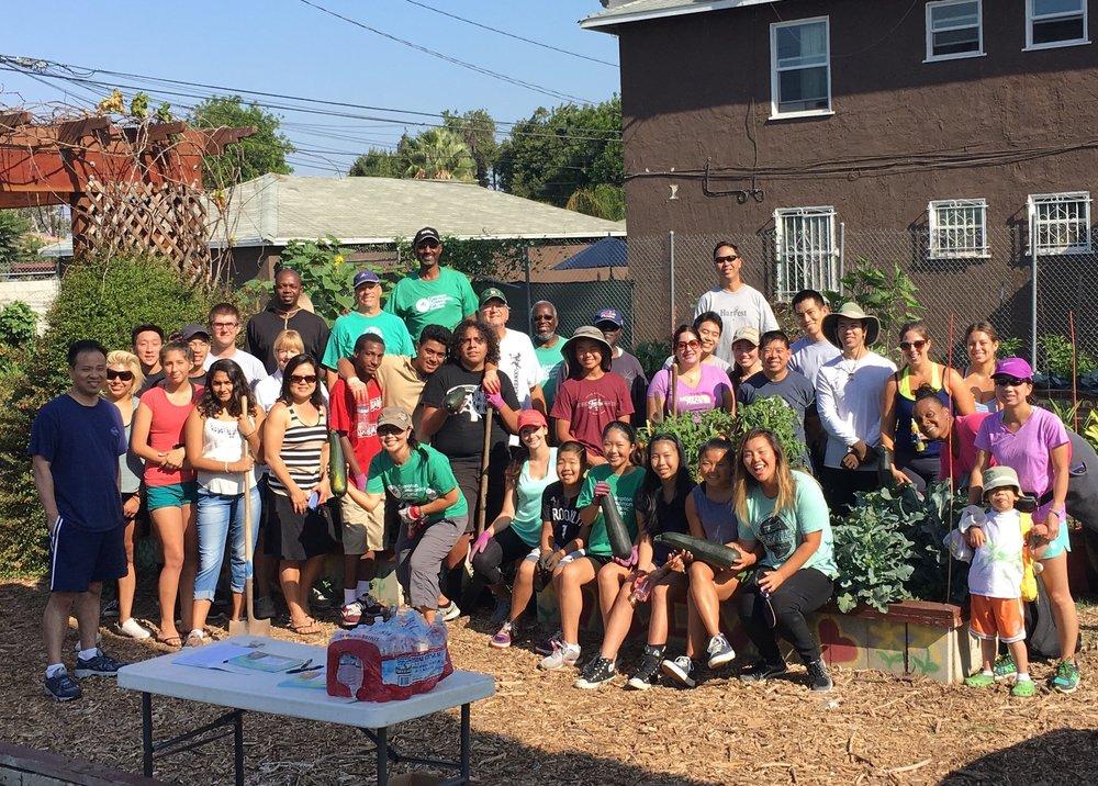 The Compton Community Organic Garden