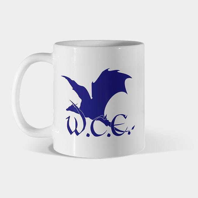 W.C.E. Mug $15.00