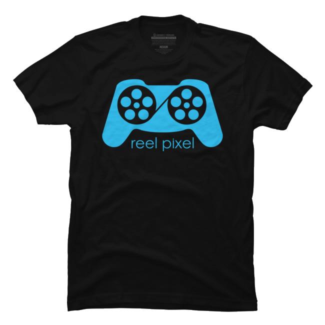Reel Pixel Logo T-Shirt $25