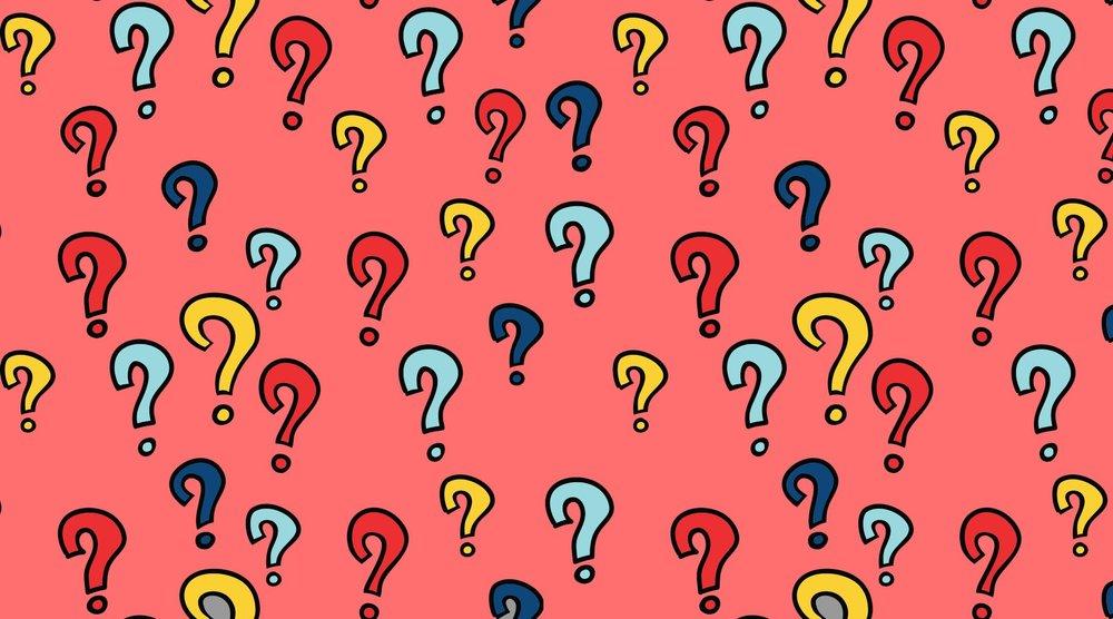 FAQ's - Stuff People Ask Us the Most...