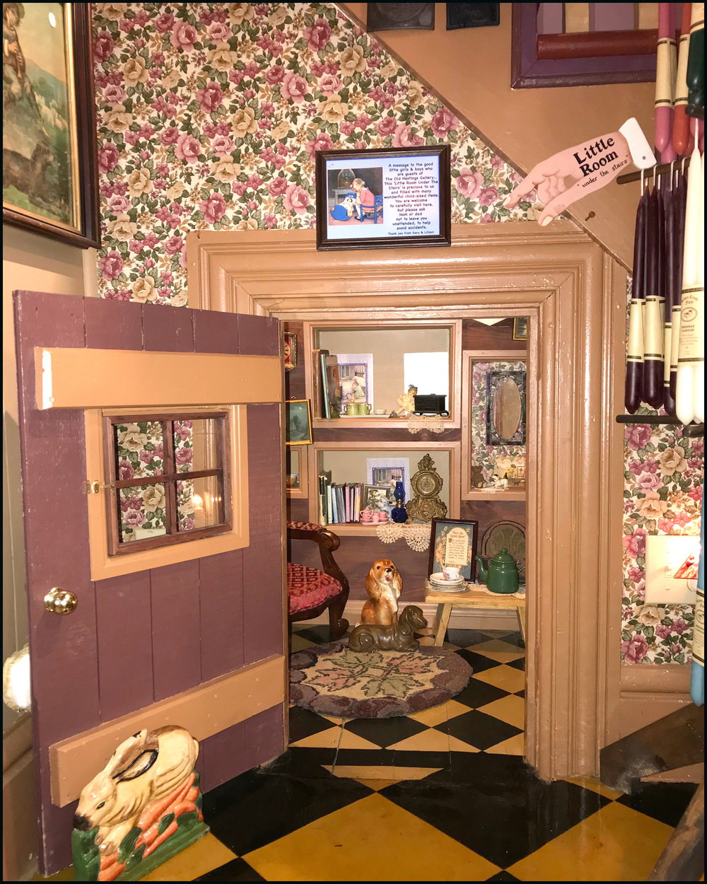 A customer favourite… The Little Room Under the Stairs.