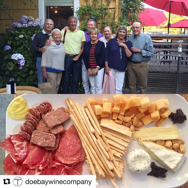 #Repost @doebaywinecompany ・・・ We had a great private tasting tonight with eight new friends! @salishseatourco picked them up at the Rosario marina, whisked them to our tasting room in Eastsound, where they dined on a delightful platter of meats and cheese and consumed copious amounts of the @theorcasproject, and then returned to @rosarioresort an hour and a half later. Like clockwork. We still have openings for our wine experiences in August! 🤗🥂