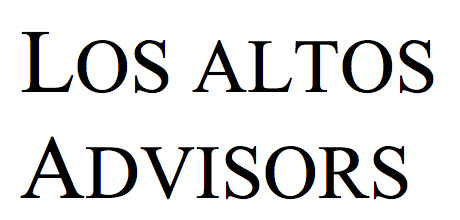 Los Altos Advisors