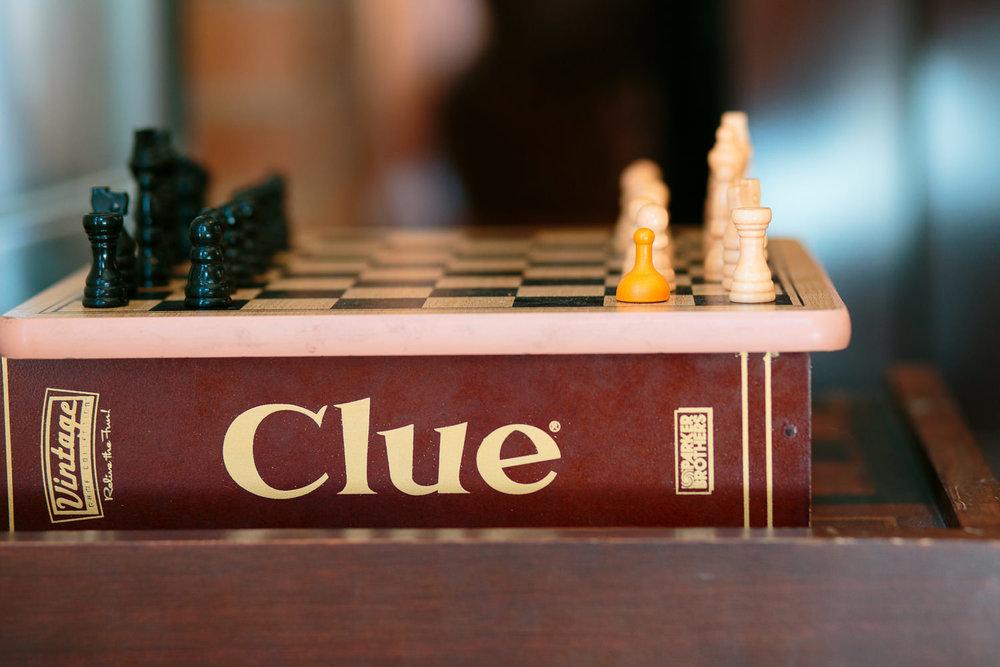 board games for patrons at utah coffee shop
