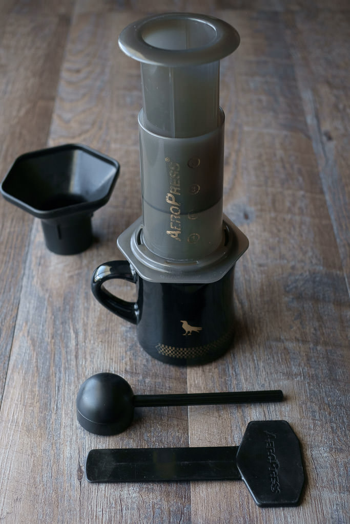 aeropress home barista coffee