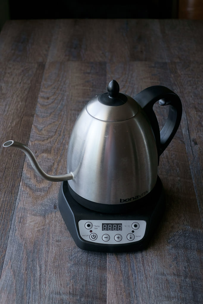 bonavita variable temperature gooseneck kettle home barista equipment Handsome Wade