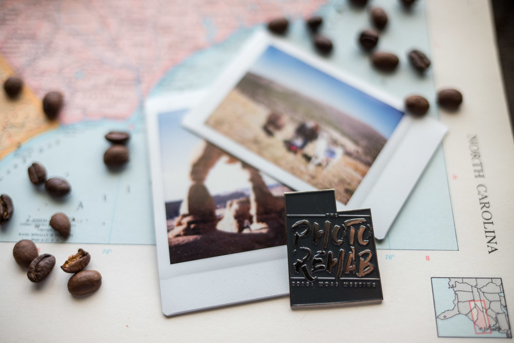 Moab utah delicate arch instax polaroid the photo rehab workshop