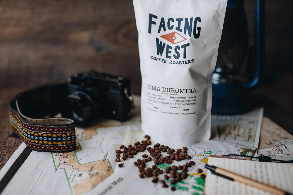 Facing West Ethiopia Goma Duromina Single Origin Coffee