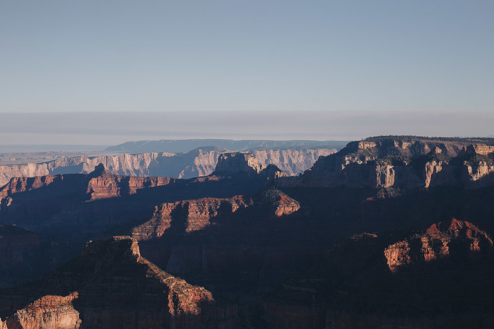 View of the Grand Canyon from Imperial Point