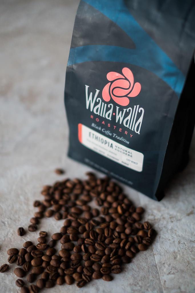 Walla Walla Roastery delicious whole bean coffee
