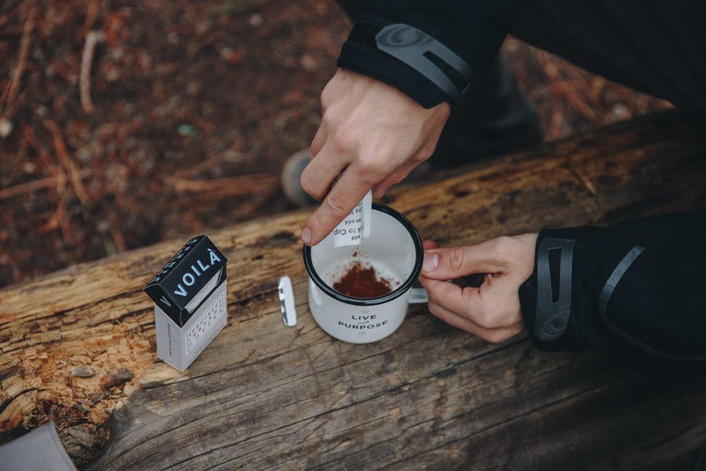 dissolvable instant coffee