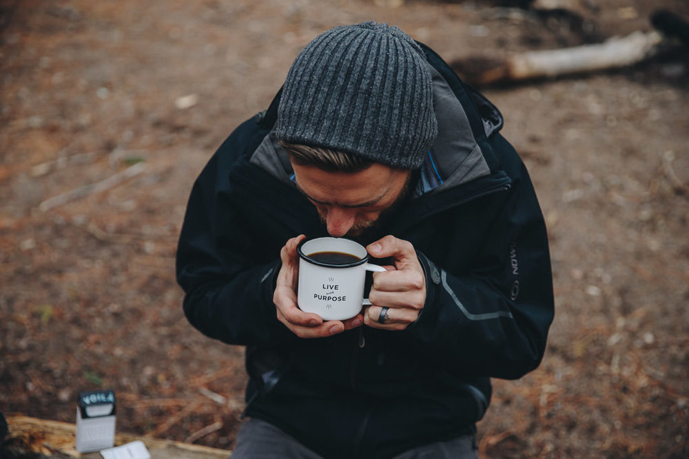 instant coffee perfect for backpacking