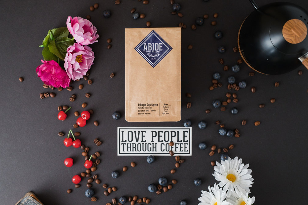 Ethiopia Guji Gigesa Natural Heirloom Coffee fruity floral light roast