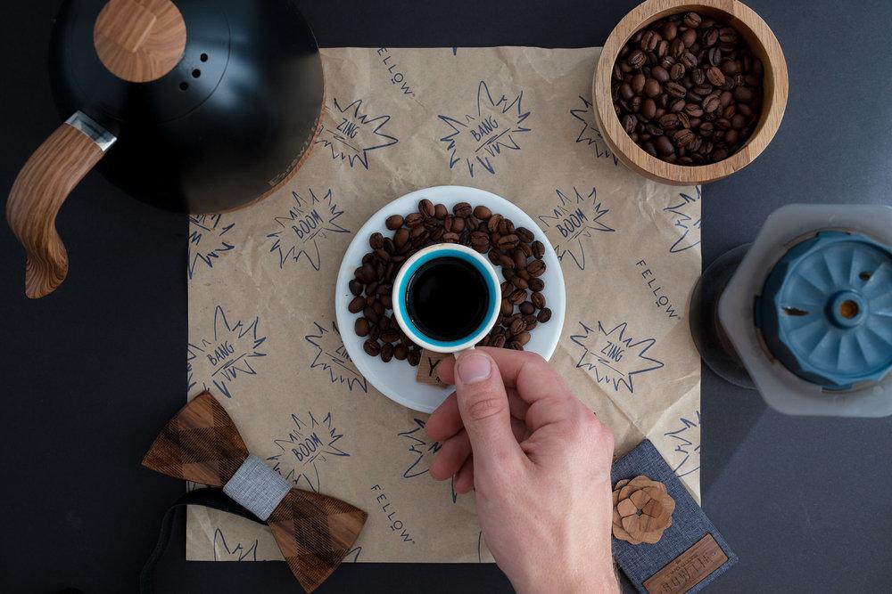 Make espresso at home with the Fellow Prismo Aeropress attachment