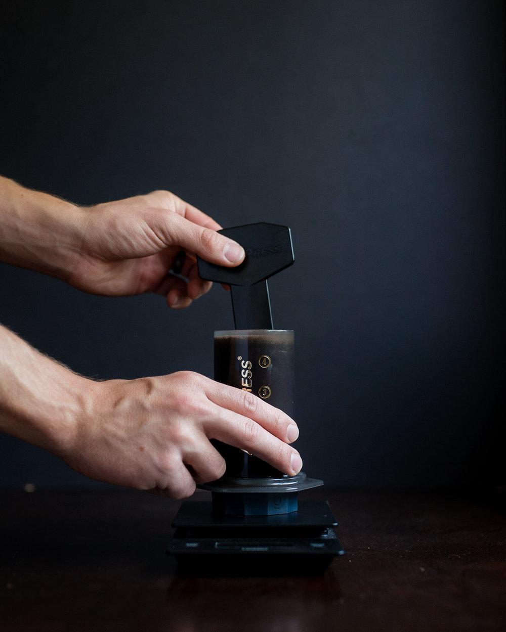 Stir 5 times clockwise