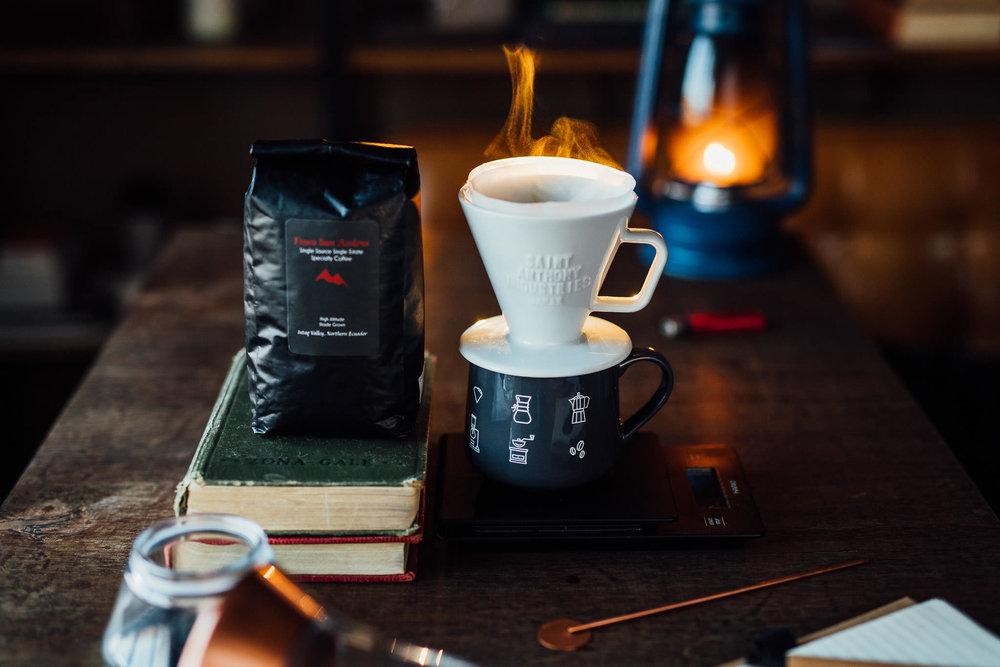 Coffee from Ecuador, Finca San Andres in the Intag Valley
