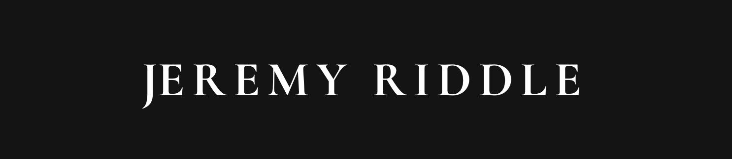 Jeremy Riddle