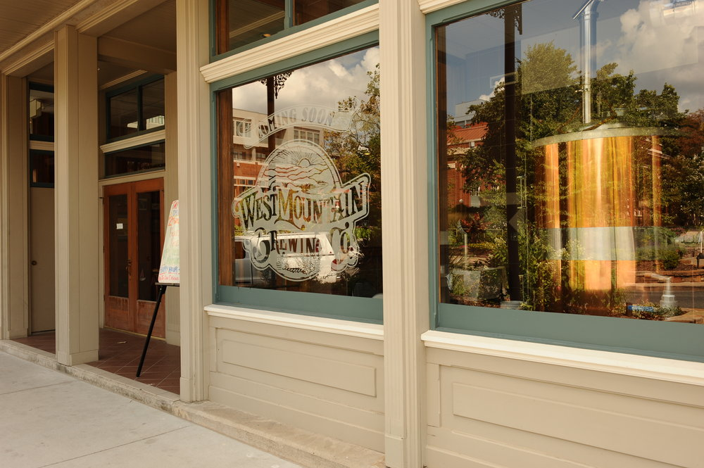 The West Mountain brewhouse sat dormant for nearly a decade before Andy Coates arrived