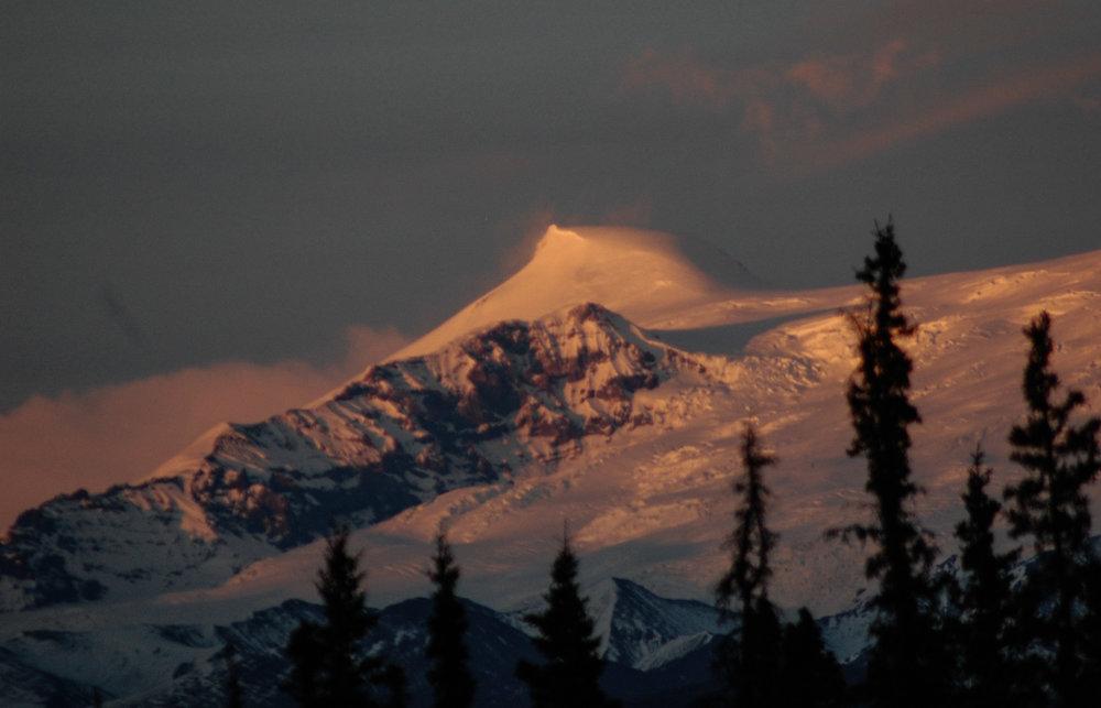 Wrangell Mountains alaska terra