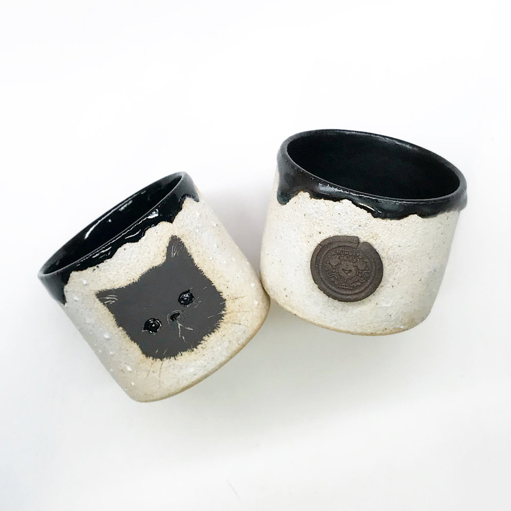 One of a kind Ceramics  Made iN Purrradise  -