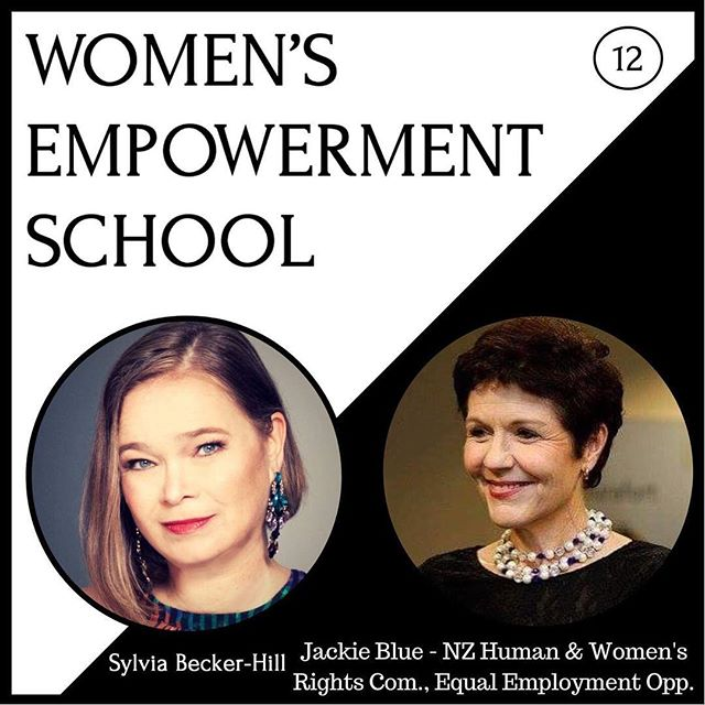 "One woman can make a difference effecting 1000 of people! Listen to my podcast interview with Jackie Blue Human Rights Commisioner from New Zealand! You find the Itunes link as the second link in the linktree of my profile. 🌸🌺🌸 If you prefer listening on Google Play or Stitcher just put in my name ""Sylvia Becker-Hill"" and my podcast ""Women's Empowerment School"" will pop up. The lively interview with my friend Jackie - who I met twice so far at the UN - is episode 12. 💪🏼🙏🏻✈️ Enjoy a lively discussion about progress around gender equality and the responsibility of businesses. 🏆💼🍾 #genderequality  #diversityandinclusion #onewomancanmakeadifference #dismantlingthepatriarchy #Ilovemypodcast #womensempowermentschoolpodcast"