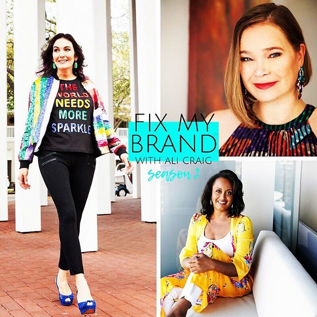 "Episode 9 Season 2 - The Energy 💥of the Uplevel: Fix My Brand With Ali Craig • First link in my linktree inside my IG profile! • How To Uplevel Your Brand From A Corporate Vibe Into A Professional Powerhouse 💥 • With women dominating the entrepreneurial landscape, finding their unique version for success🍾 is crucial. ✨Yet far too many female-founded businesses are failing because they fall into the old corporate business model without even knowing it. From taking on masculine roles, trying to beat the ""boys"" 💪🏼 or simply trying to be ""Superwomen""💄 -these corporate traits to success won't bring the entrepreneurial freedom and success they are looking for. 👓👁 • On this week's Episode of Fix My Brand With Ali Craig®, we show the transformation of two amazing brands going from the corporate Superwoman 🤳🏻🧠driven mind to powerful, holistic, and on point visual and verbal esthetic brands. 💃🏻 Already successful women in their own right, these international authors and former executive of an international corporation - the transformation that both Sylvia Becker-Hill and Cassandra Shepard underwent was all-encompassing for themselves and their brands. • With Sylvia Becker-Hill's personal as well as professional (https://www.becker-hill.com/ ) transformation, we show the viewers that there is a way to have the smart message, the beautiful look, the life of your dreams, as well as a brand that make bank. • ""What is amazing about the transformation of both Shepard and Becker-Hill is that for them to uplevel their businesses it was just as much as a personal evolution as a professional one. They had to be willing to open their minds and hearts to a new perspective and visual embodiment of their work."" says Ali Craig host and lead brander for the show Fix My Brand With Ali Craig. • In this episode you'll see me celebrating 🥂🍾🍹my new brand with friends, eating ice-cream 🍦with my boys and painting in my art-studio! 🖼 It's truly an intimate view 🔎 into my life and mission! ❤️🧡❤️🧡❤️🧡❤️ P.S. First link in my linktree inside my IG profile shows this episode! ✨💥🥂 #fixmybrandwithalicraig  #realitytv #rebranding #beckerhillwomensempowermentschool"