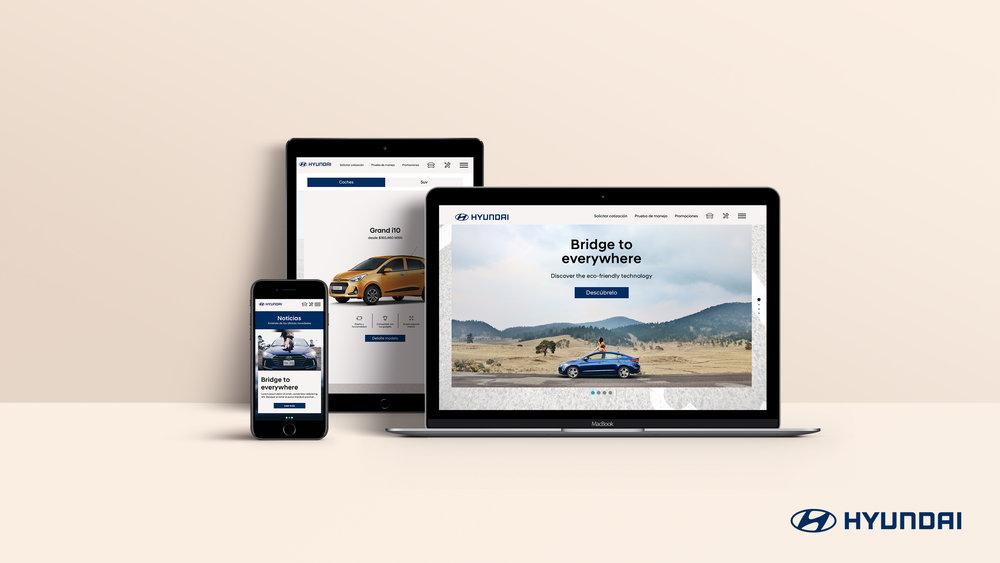 Responsive Website Hyundai
