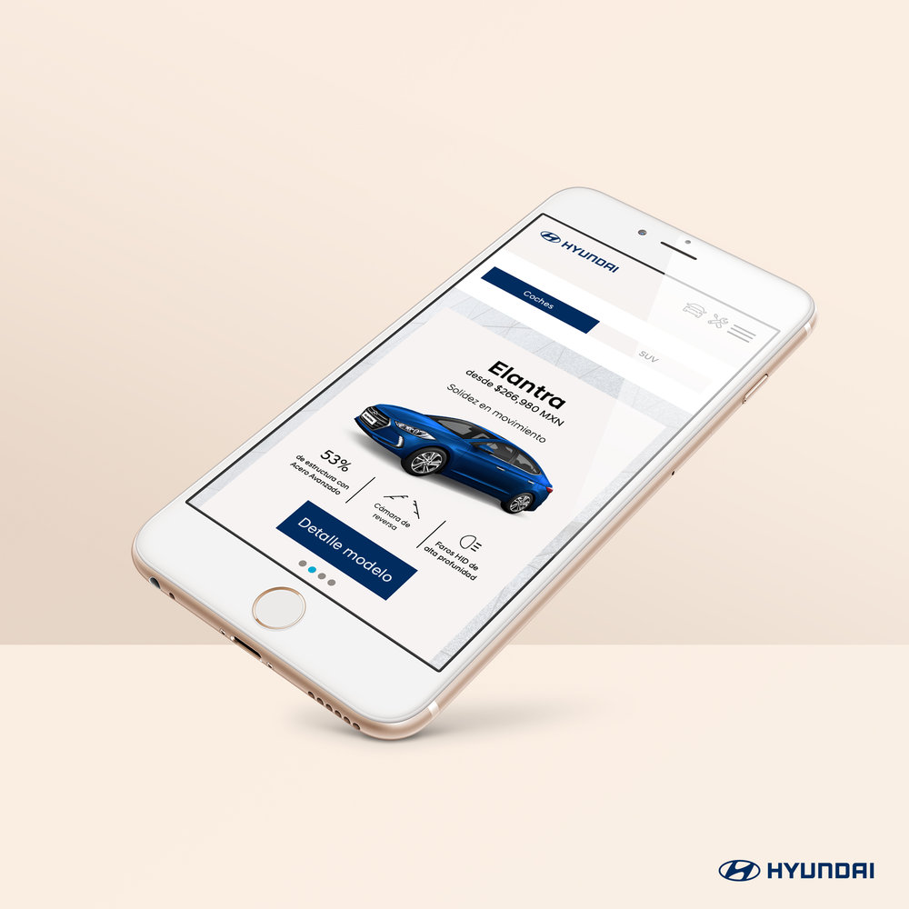 Hyundai Mobile Website