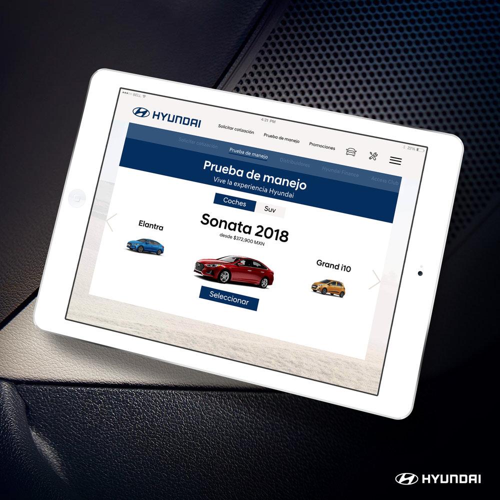 Hyundai Tablet Design