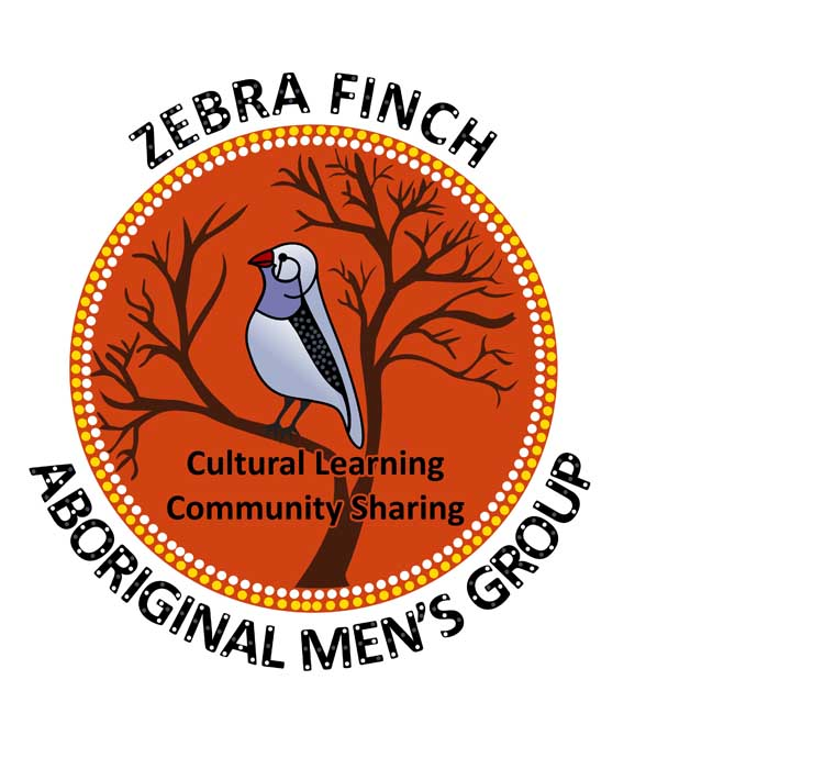 - The Zebra Finch Aboriginal Men's Shed is a social gathering with a focus on cultural art and craft, artefact making, training and mentoring.