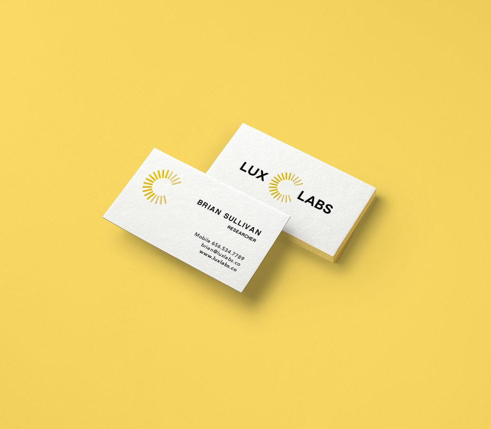 Lux Labs   Logo design