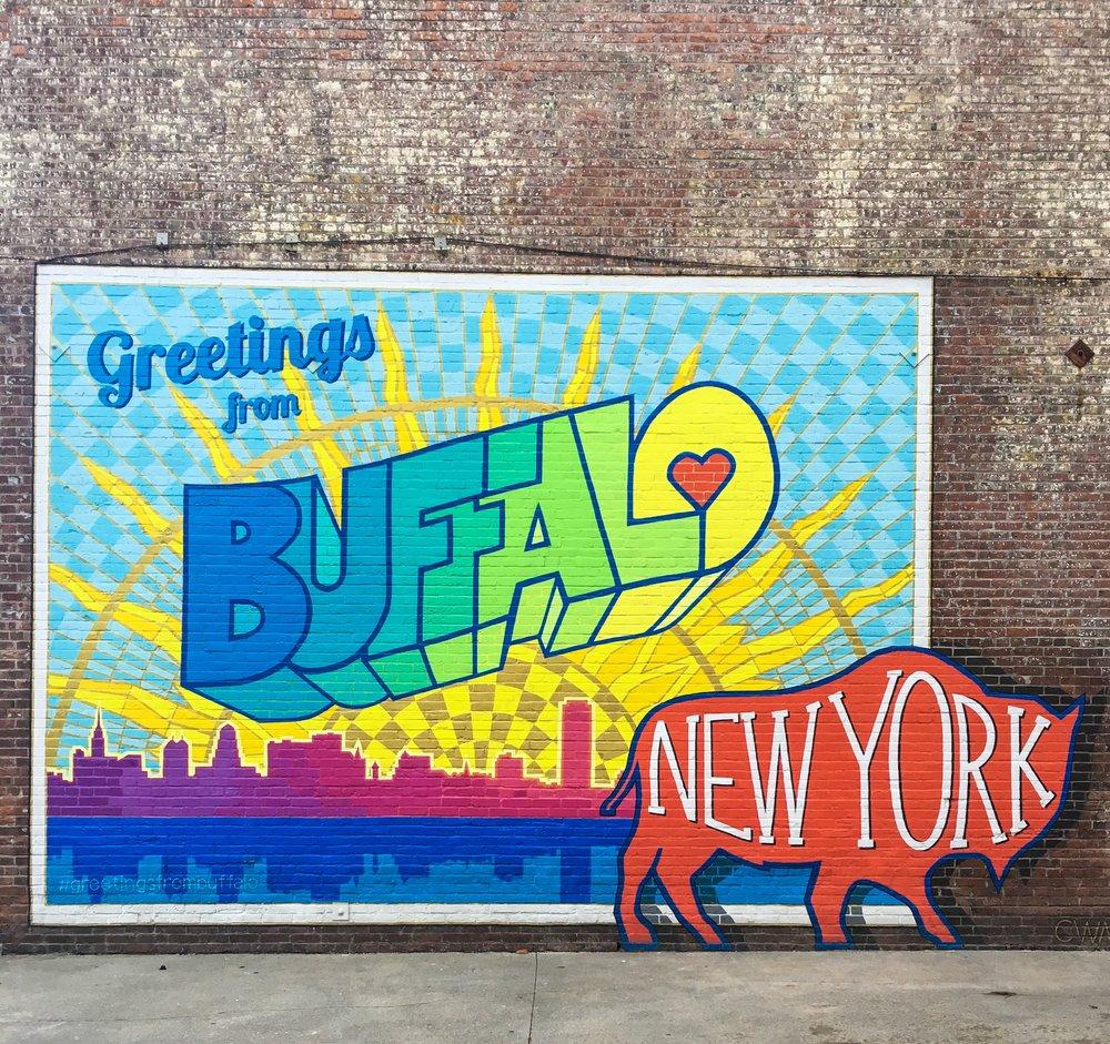 Wall Mural Buffalo NY