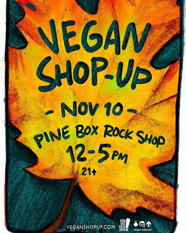 We are popping up at @pineboxrockshop tomorrow - November 10th from 12pm-5pm.
